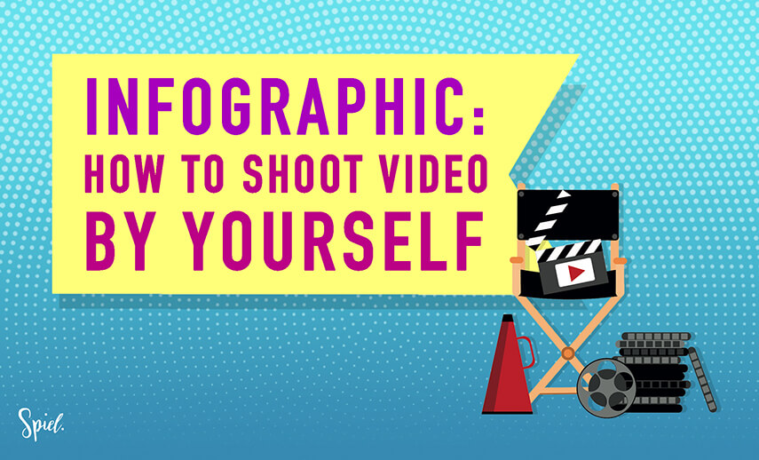 A Simple Guide to Shooting Video by Yourself – Infographic