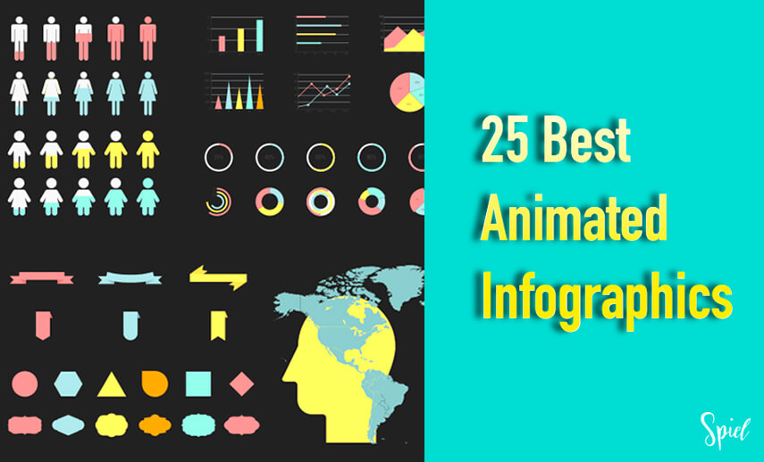 25 Best Animated Infographic