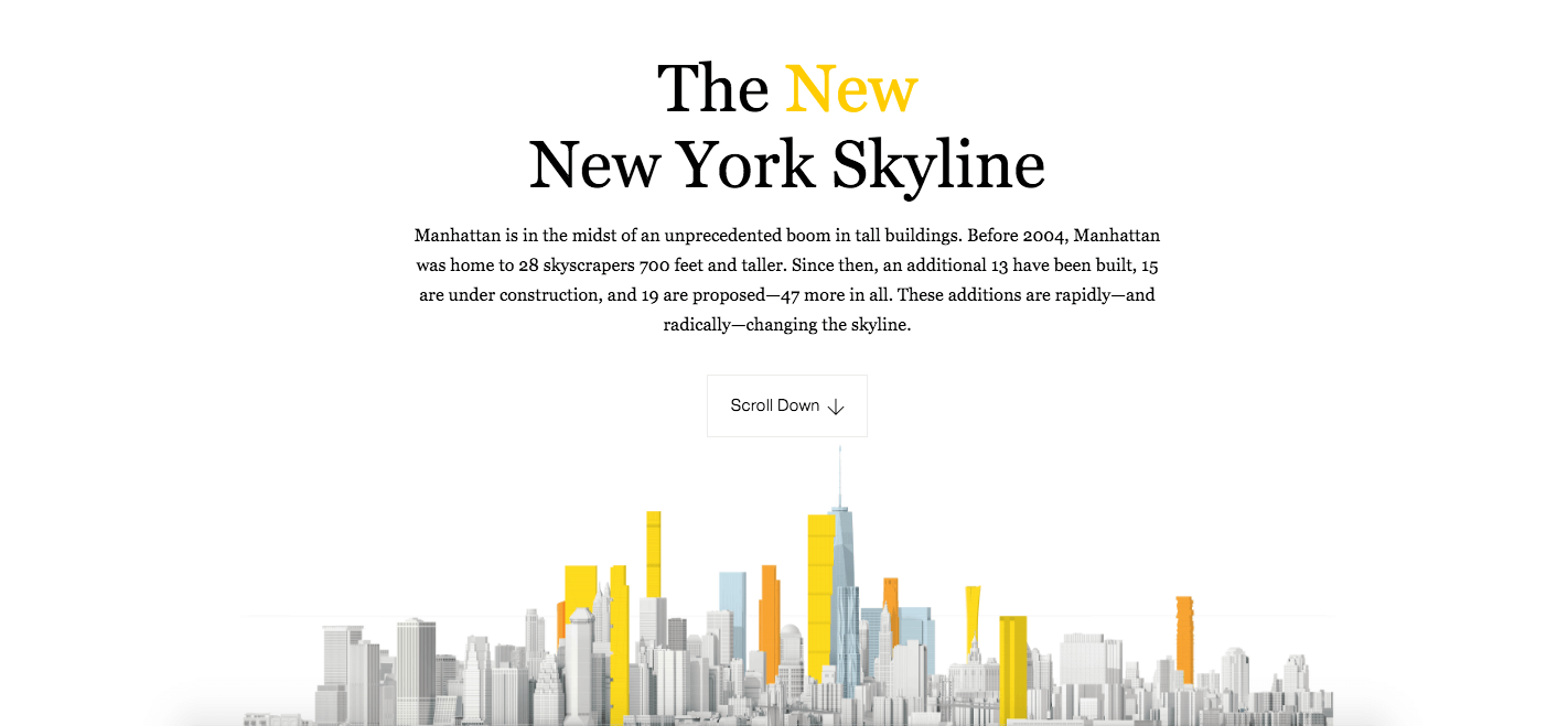 The New New York Skyline