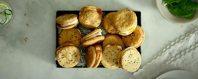 Emmental Savoury Snack Biscuits